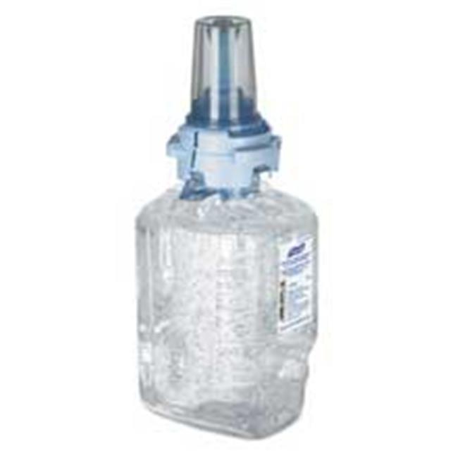 Go-Jo Industries 870304CT Advanced Green Certified Instant Hand Sanitizer Refill Gel - 700 ml. famous names lumos instant impact bottom coat 15 ml