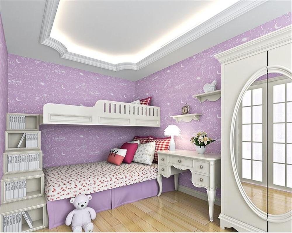 Tapete Kinderzimmer Lila