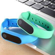 Smart Wristband M2 Waterproof Band Heart Rate Monitor Bluetooth Smart Bracelet Sleep Fitness Tracker Pedometer Wristband