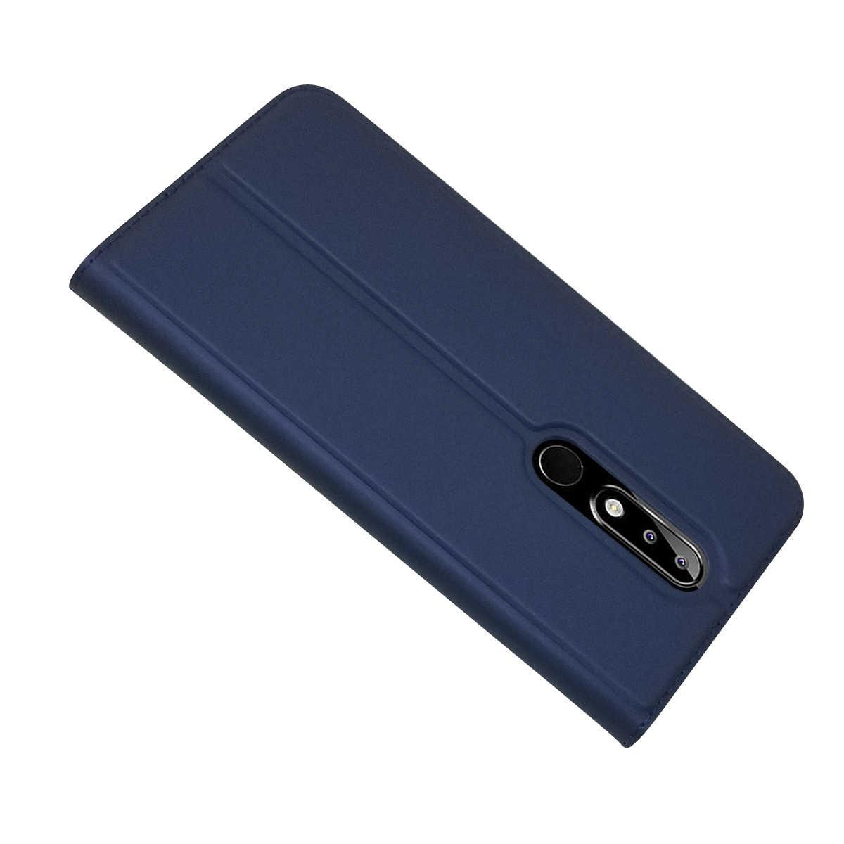 Slim מגנטי מקרה Coque עבור Nokia 5 TA-1053 TA-1024 כיסוי עבור Nokia 5.1 בתוספת X5 TA -1109 מעטפת Fundas נוקיה 5.1 מקרי טלפון