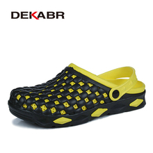 DEKABR 2019 New Men Sandals Summer Slippers Men Classic Beach Casual Shoes Cheap Male Sandals Water Shoes Sandalia Masculina