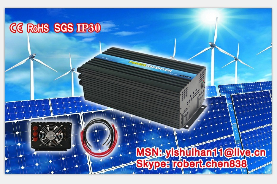 2015 new hot sale 4000w solar panel inverter with remote. Black Bedroom Furniture Sets. Home Design Ideas