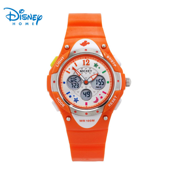 100% Genuine Disney Sports Watches Fashion 100M Mickey Brand Digital Wristwatches men watch Reloj LP-PS028-1