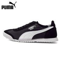 Original PUMA Roma Slim Nylon Unisex Skateboarding Shoes Sneakers