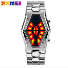 New strange snake table Wholesale Fashion Jewelry girl present Binary Watch For waterproof LED women steel
