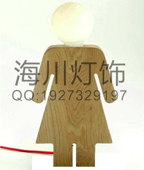 Creative Wood manufacturers custom wooden lamp reading lamp Creative new creative manufacturers supply