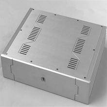 BZ4310C Aluminum enclosure Preamp chassis Power font b amplifier b font case box size 430 105