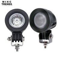 MIXC TRENDS 10W LED Work Light 2 Inch Mini 12V Car Auto SUV ATV 4WD 4X4