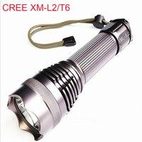 Power Flash Light XM L2 T6 LED Flashlight For 26650 To Hunting Daily Carry Teaching Night