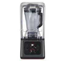 220 В полуавтоматическая низкочастотная кухонная машина соевое молоко мельница Сухого измельчения пищевой блендер коммерческий блендер вы