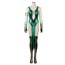 Video Game Mortal Kombat X Cosplay Jade Female Version Clothing Halloween Carnival