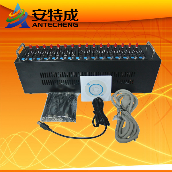 gsm sms modem multi sim card 16 port bulk sms gsm modem STK USSD mobile recharge