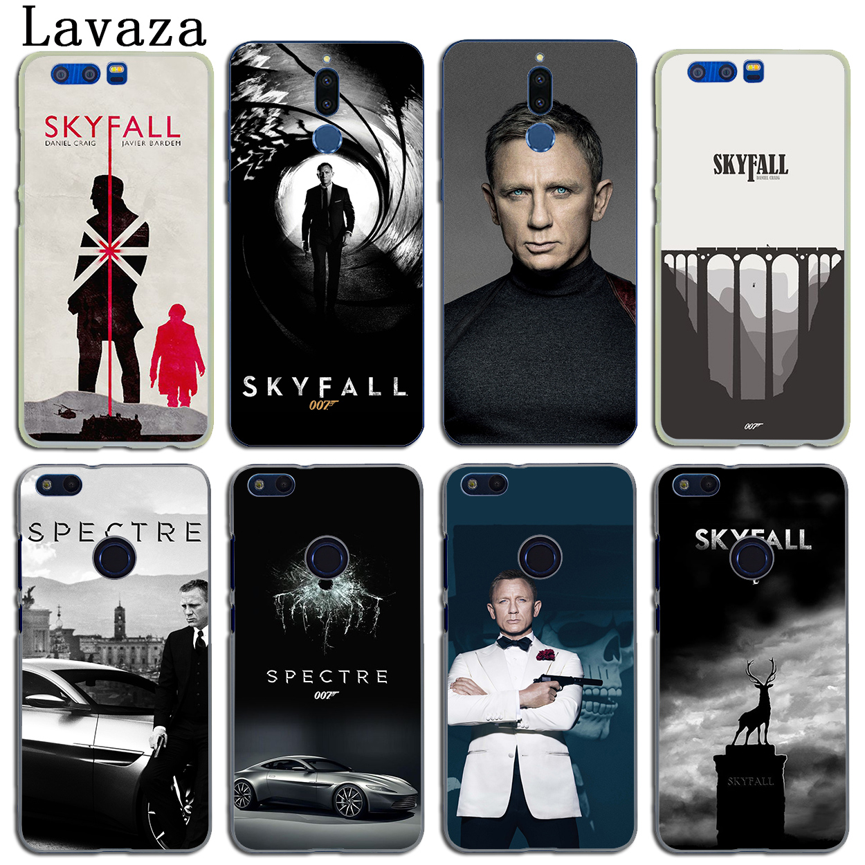007 Spectre James Bond Skyfall Case for Huawei Y6 Prime Y5 II Y7 2017 2018 Nova 4 3i 3 Honor play 10 8X 8 9 Lite 7C 7X 6C 7A Pro