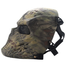 Skull Masks Camouflage Tactical Mask Outdoor Military Wargame Paintball Airsoft Tactical Jungle CS Full Face Mask WQTS0053W*25