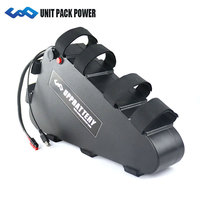 UPP Triangle style 1000W 48V Battery with NCR Cell USB Port 48V 26Ah Bafang Battery