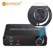 Neoteck DAC 5.1CH аудио декодер совместим с DTS Dolby цифро-аналоговый конвертер оптический коаксиальный RCA 3,5 мм адаптер с аудиоразъемом