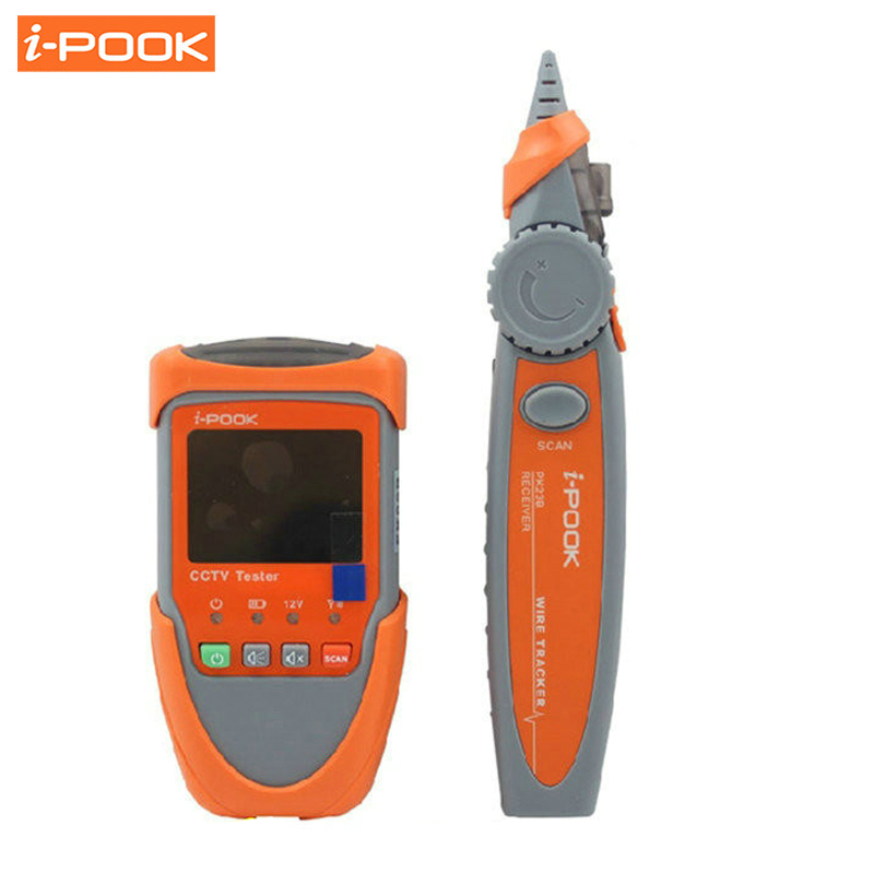 Portable Network Cable Scan Test Wire Tracking Digital 2.0 CCTV Camera Tester Video Monitor Audio Testing