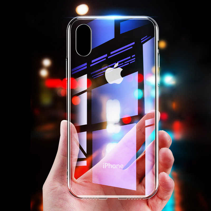 TPU Soft Silicone Transparent Case For iPhone 11 XR XS 6 6s Slim Cover For iphone X 10 XS 11 Pro Max 7 8 Plus Phone Cover Case