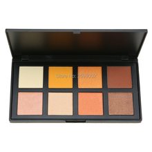 8 Color Eyeshadow Palette Fashion Naked Earth Warm Shimmer Matte Beauty Smoky Eye-shadow Pallete For Eyes Powder E Makeup Kit