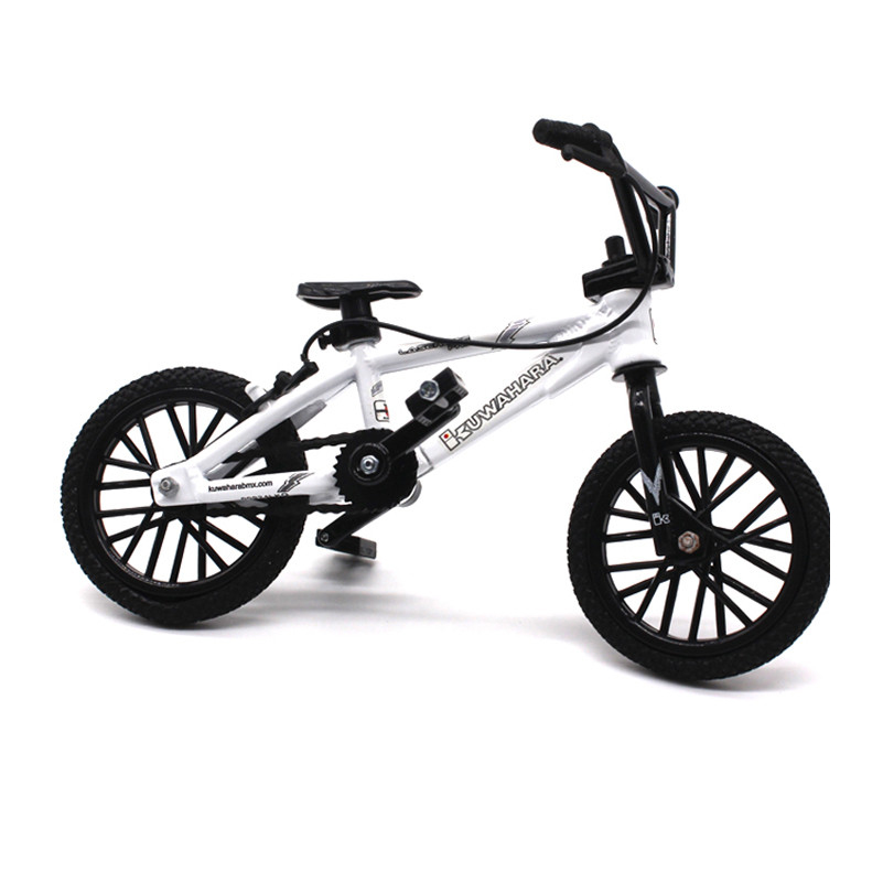 Mini Alloy Finger Bicycle Flick Trix Finger Bikes with Gadget Tools Model Bike Toys For Kids Figure Bicycle for Kids Toy Gift