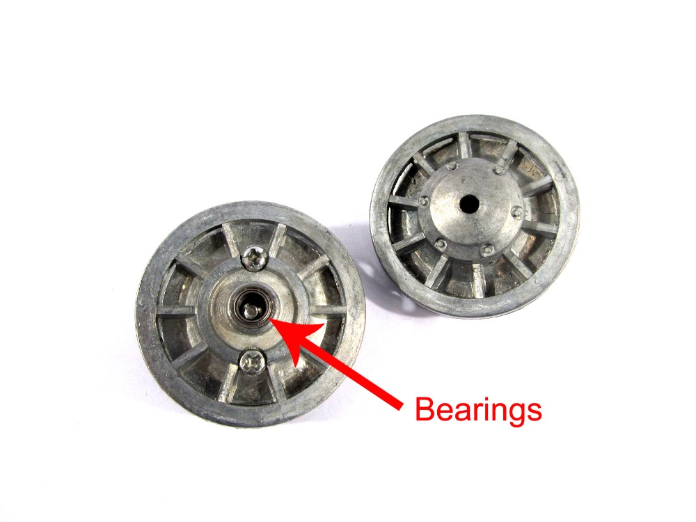Mato Metal upgraded idler wheels parts for Heng Long 3818-1 1/16 1:16 RC Tiger I tank model parts with bearings запчасти и аксессуары для радиоуправляемых игрушек henglong 3818 3818 1 rc heng tiger i 1 16 18 073