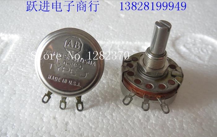 BELLA US imports antique AB JAIN056S105UA 1 trillion danji potentiometer shaft length 22MMX6 3 5PCS