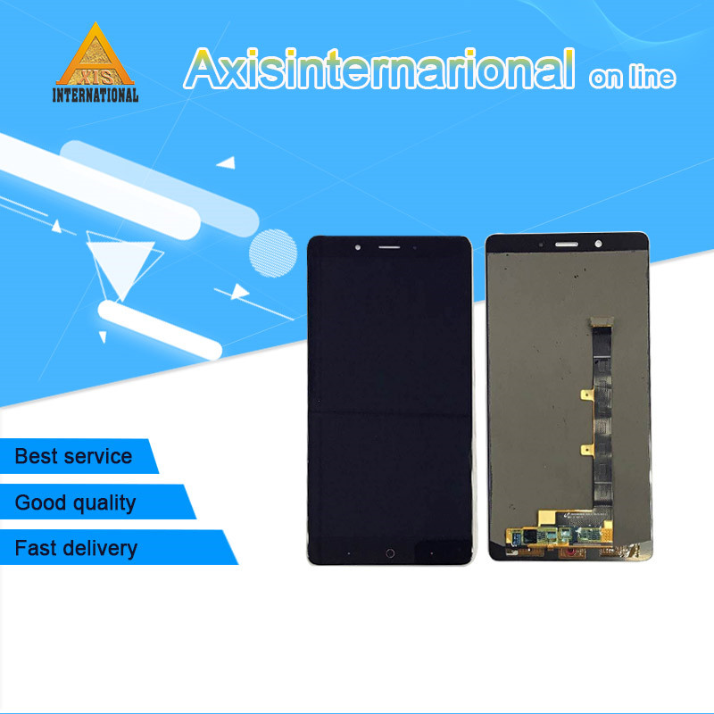 For 6 0 ZTE Nubia Z11 Max NX523J NX535J Axisinternational Lcd screen display Touch screen digitizer