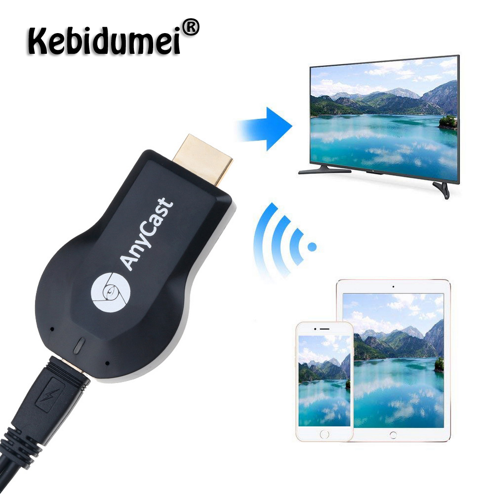 Anycast M2 Plus TV Stick WiFi Dongle HDMI Transmitter 1080P 256MB ...