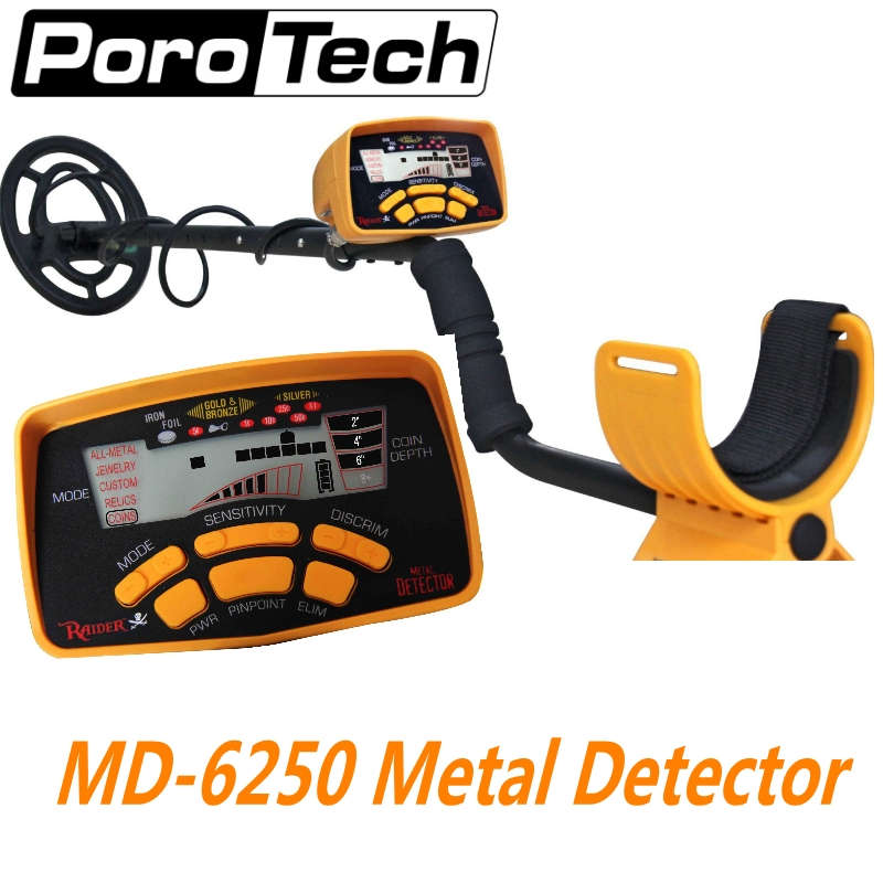 New Arrival MD-6250 Underground Metal Detector MD6250 Gold Digger Treasure Hunter Ground Metal Detector\ MD6150 Updated Version