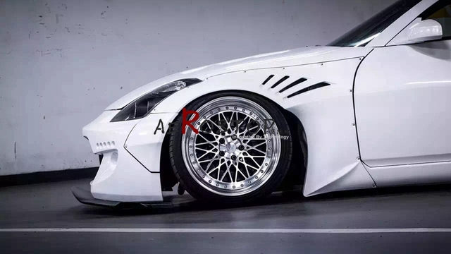 US $268 0 |350Z ROCKET RB WIDE AERO STYLE FRONT & REAR FENDER FLARE FRP  FIBER GLASS-in Body Kits from Automobiles & Motorcycles on Aliexpress com |