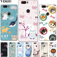 Z17Lite For ZTE Z17 Lite Case 5.5'' Silicone Soft TPU Back Cover For ZTE Nubia Z17 Lite Case Z 17 Lite Cover 17Z Coque Owl Funda(China)