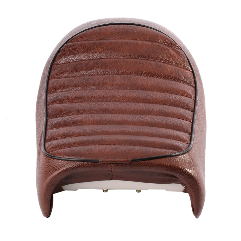Vintage Hump Cafe Racer Seat Waterproof Leather Padded with Sponge