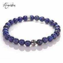 Мужские ювелирные изделия thomas style lapis lazuli эластичный