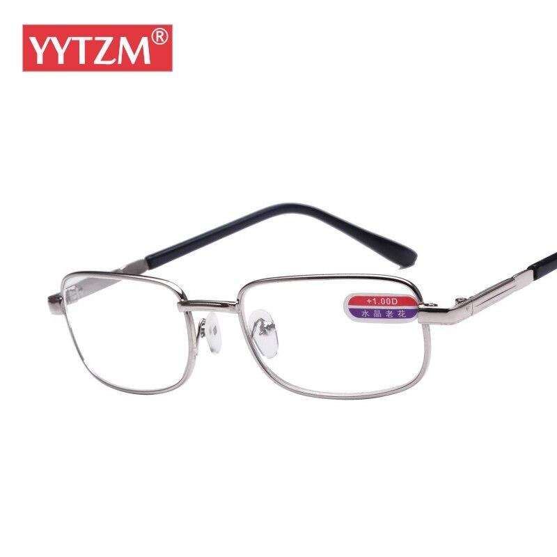 16e6a020d YYTZM Reading glasses Men Alloy frame and glass Lens Durable HD Women gafas  de lectura oculos de grau diopter glasses