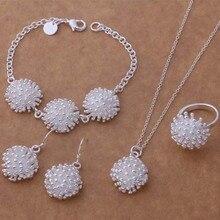 AS319, хит, ювелирные наборы из серебра 925 пробы, браслет 081+ ожерелье 692+ серьги 356+ кольцо 184/ampajdwa atcajkja