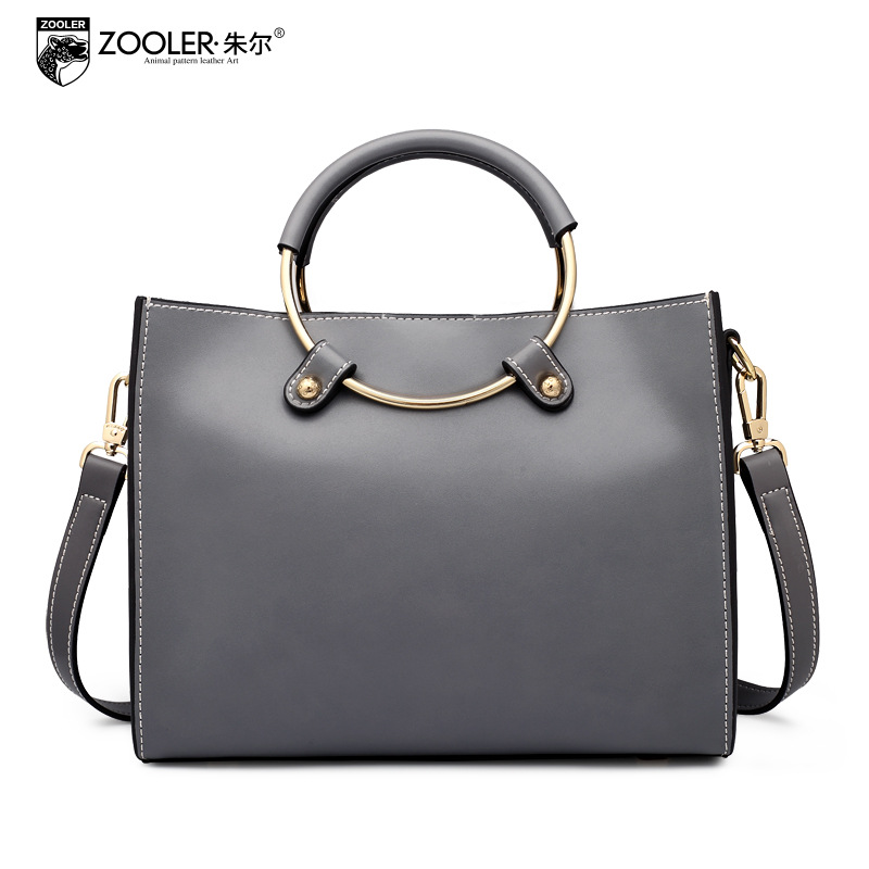ZOOLER Ladies Fashion Handbag 2017 New Women Genuine Leather Bag Luxury Handbags Women Bags Designer Shoulder Small Tote Bags qiaobao 100% genuine leather handbags new network of red explosion ladle ladies bag fashion trend ladies bag