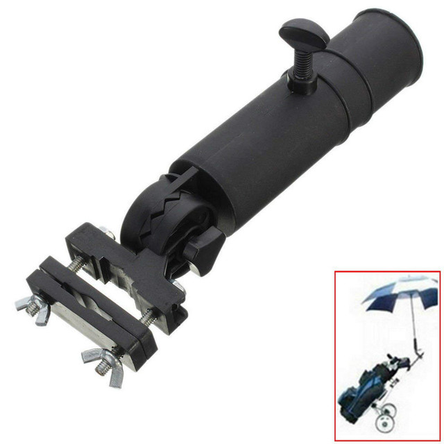 Golf Cart Umbrella Holder Adjustable Universal Umbrella Holder for Wheelchair Golf Cart Holder Html on wheelchair stand up and play, courtesy cart, grocery cart,