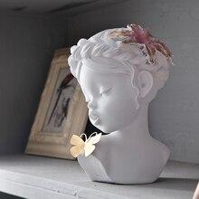 נורדי מודרני תמציתי סגנון Creative שרף אנשים פסל מלאכות משרד עיצוב הבית פריטי ריהוט מתנות חתונה