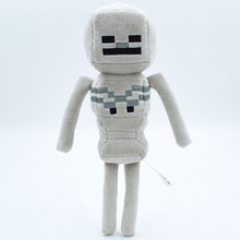 New 2016 Minecraft Toys mini 24cm Minecraft Skeleton Plush Stuffed big size 36cm Toys Movie Toys