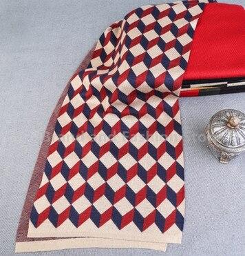 2017 Newest Design Brand Scarf Men Warm Luxury Scarves Echarpe Fashion Plaid Wool Scarf Man BF-135