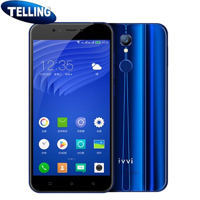"""Naked Eye 3D Glasses-free Original ivvi K5 Mobile Phone 4G LTE MTK6750T Octa Core Android 4G+64G 5.5"""" 1080P Fingerprint ID Phone"""