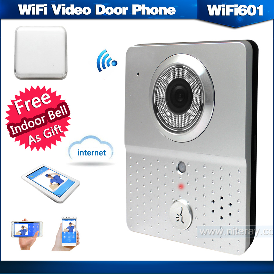 WIFI601 Wireless Peephole Camera Door Lock Remote Control By IOS/Android Mobile  Phone With Motion Sensor+night Vision In Access Control Kits From Security  ...