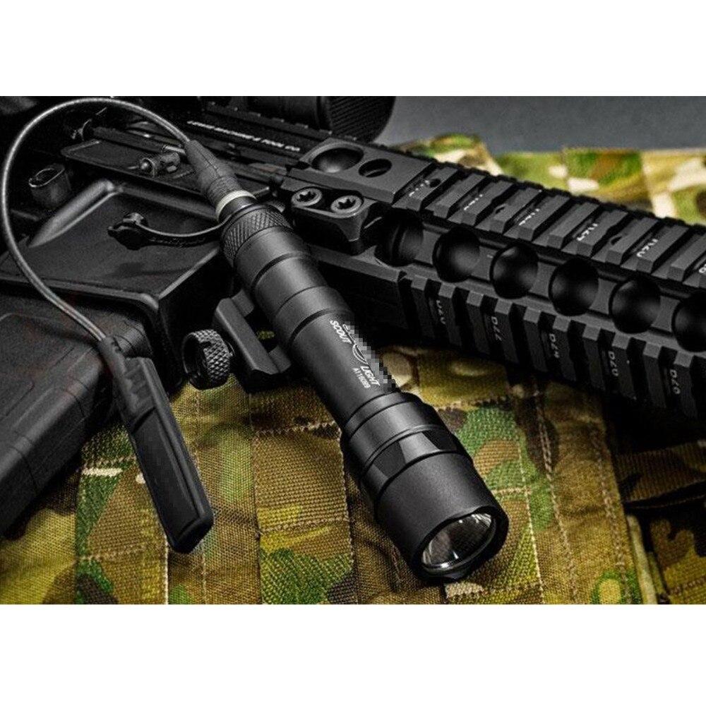 Lampu suluh taktikal SF M600 M600B untuk senjata pemburu obor senjata - Memburu - Foto 2