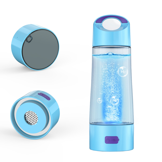Rich Hydrogen Cup Water Generator SPE Electrolysis Energy Hydrogen-rich Antioxidant ORP H2 Water Ionizer Bottle with drain hole
