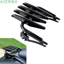 Motorcycle Stealth Luggage Rack Detachable For Harley Touring Road King Electra Glide Ultra Limited FLHTK FLHT FLHR FLTR 09-16 detachable stealth luggage rack for harley touring electra glide road king street glide touring 2009 2016 motorcycle