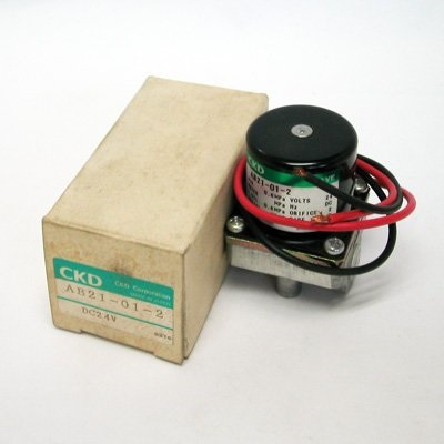 CKD solenoid valve AB21-01-2-DC24V Direct acting 2 port solenoid valve (general purpose valve) sy5420 5mo 01 solenoid valve