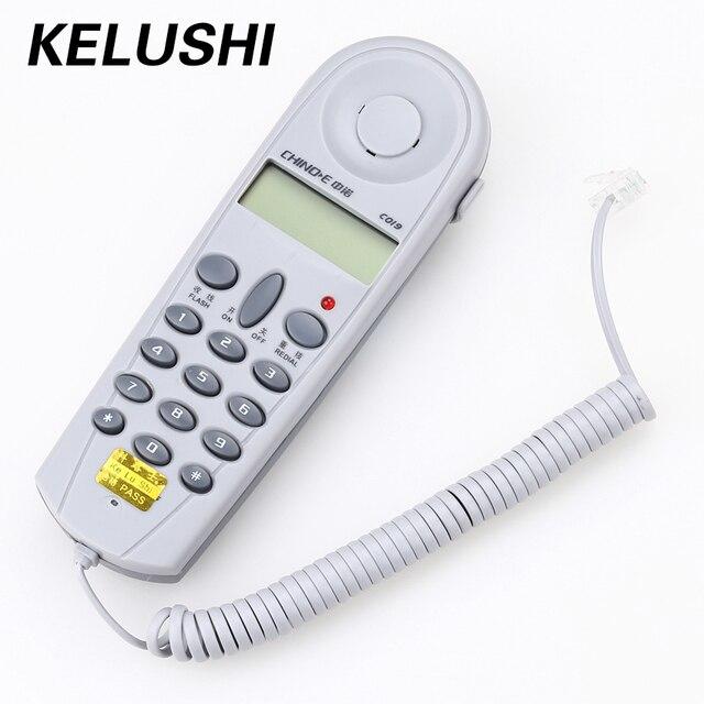 KELUSHI Fiber Aracı 1 set C019 Telefon Telefon Hattı Ağ Kablo Test Cihazı Butt Test Test Cihazı Lineman Aracı Profesyonel Cihaz