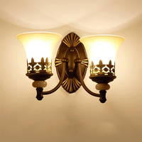 Luxury Wall Lamp wall bedside reading lamp sconce Vintage LED Lamparas de pared Wall LampArandela wall sconce