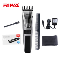 Rechargeable Haircutting IPX5 Waterproof LCD Display Cordless Electric Hair Trimmer Shaver Stainless Steel HairClipper For Men