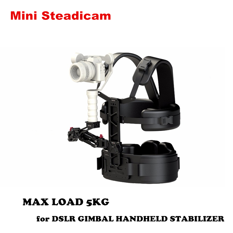 Mini Steadiam steadycam Vest rig Arm Gimbal Support Rig for DSLR CAMERAS Zhiyun Crane 2 TILTA G1 3-Axis Handheld Stabilizer 8 10kg video camera support steadicam steadycam vest arm double handle for dslr dji ronin 3 axis handheld gimbal stabilizer